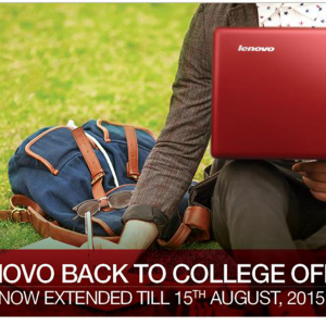 Back to College Offer on Lenovo - Placewell Retail (Siliguri)