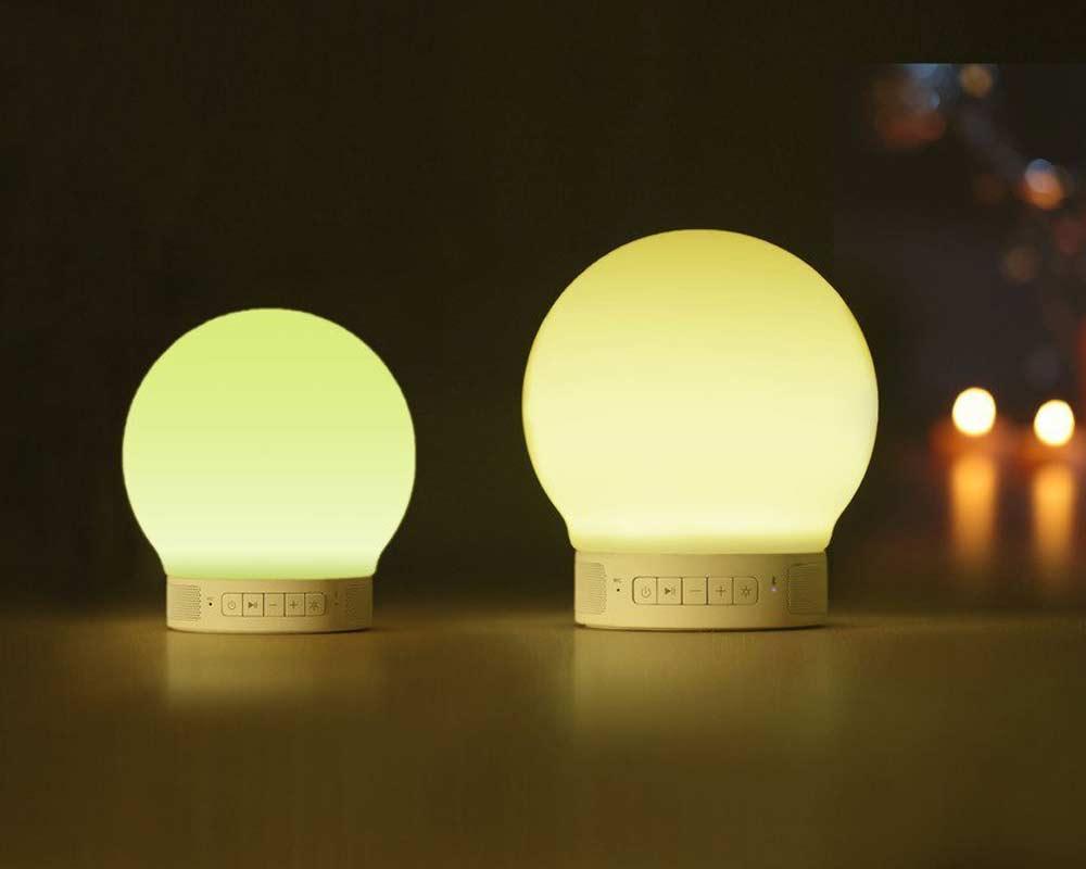 Zoook Smart Multi Color Lamp Bluetooth Speaker