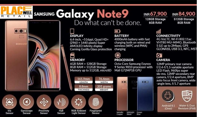Pre-Book Samsung Galaxy Note 9