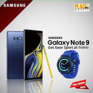 Pre-Book Samsung Galaxy Note 9 - Siliguri / Sikkim / North Bengal