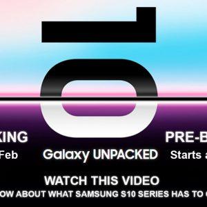 Samsung Galaxy S10 Unpacked in Siliguri